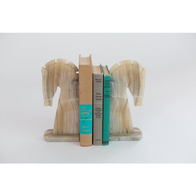 Turquoise and Tan Set of Vintage Books - 3 - Image 4 of 4