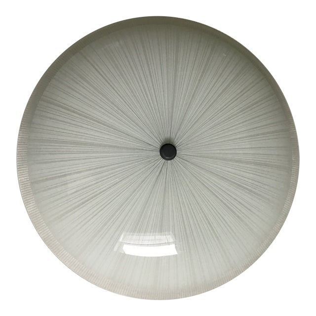 20th Century Lightolier Ceiling Light Shade Fixture For Sale