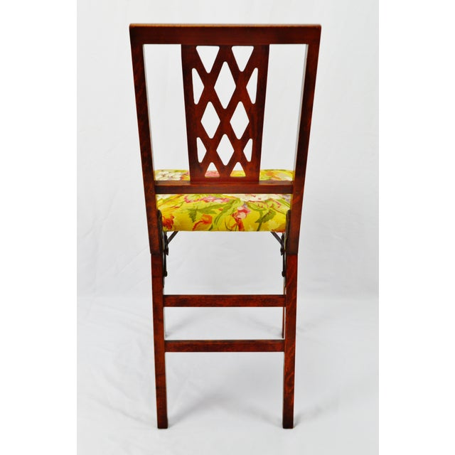 Vintage Leg O Matic Folding Chair For Sale In Philadelphia - Image 6 of 11