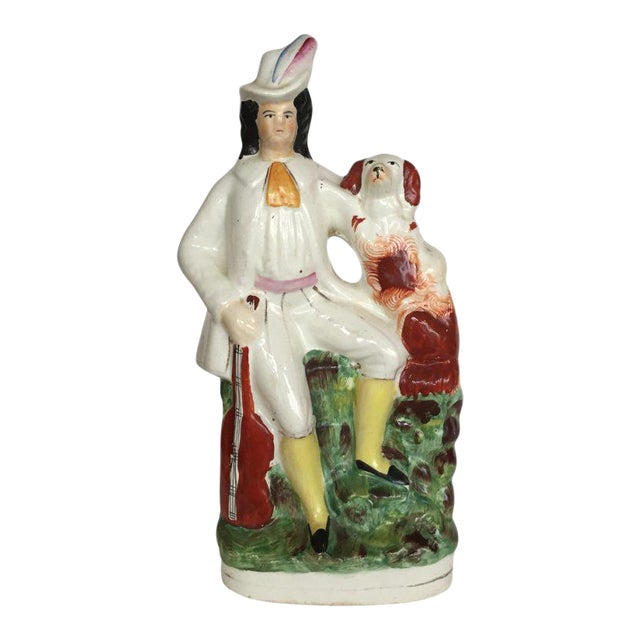 19th C. English Staffordshire Figure For Sale