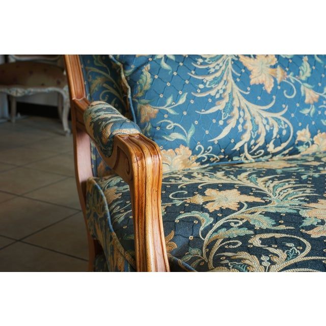 Comfortable Giant Hand Carved Club Chair - Image 7 of 10