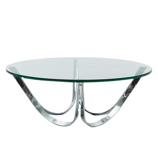 1970s Mid-Century Modern Roger Sprunger Coffee Table For Sale