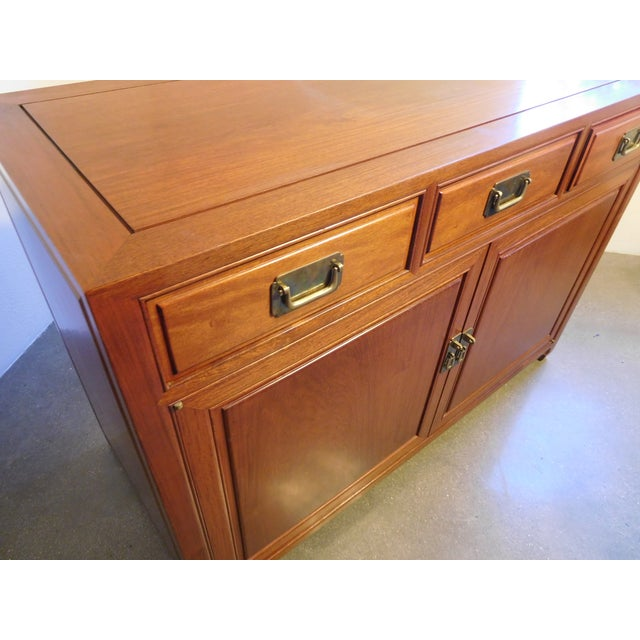 Vintage Chinese Rosewood Buffet - Image 3 of 9