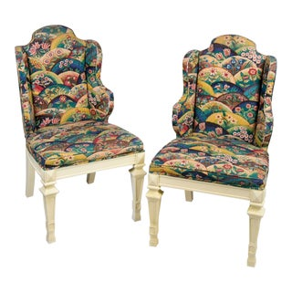 Isobelle Slipper Chairs - A Pair
