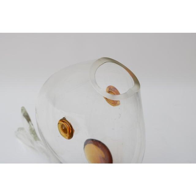Vintage Blenko Glass Fish For Sale - Image 5 of 8