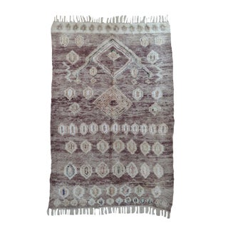 Moroccan Bouajd Wool Rug For Sale