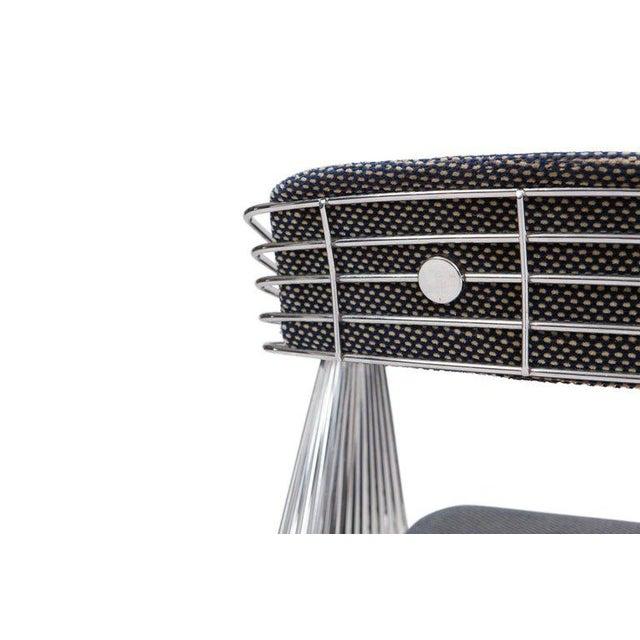 Mid-Century Modern Rudi Verelst Space Age Swivel Armchairs in Chromed Steel For Sale - Image 3 of 12