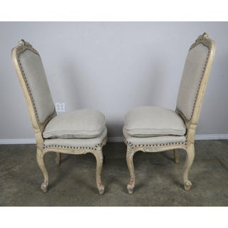 Pair of French Painted Louis XV Side Chairs Preview