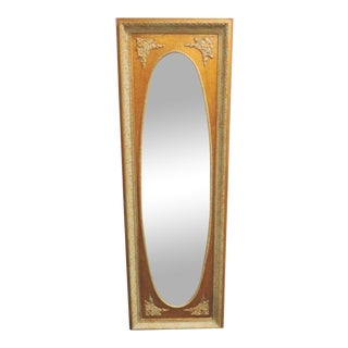 Italian Rococo Carved Mirror For Sale