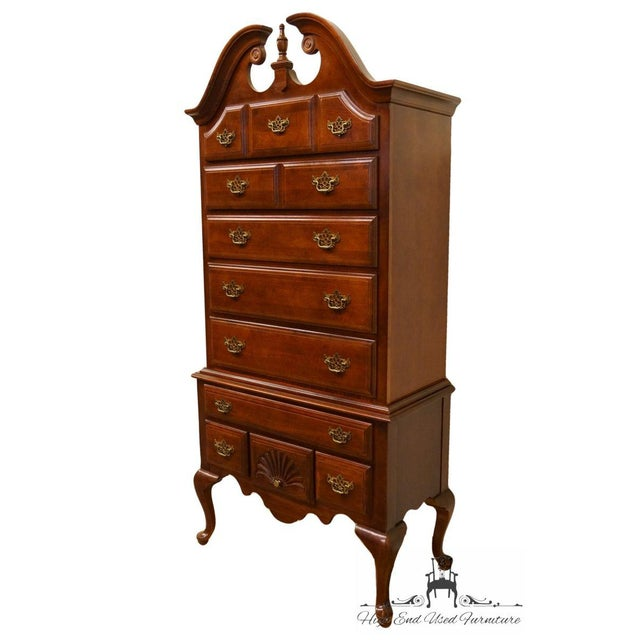 This highboy includes 7 dressers. This piece would fit great in a country style home, or a shabby chic setting. Made in...