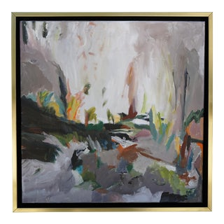 """Laurie MacMillan """"So Close, and Yet So Far"""" Abstract Landscape For Sale"""