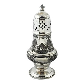 Antique Silverplate Sugar Shaker For Sale