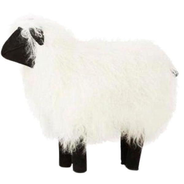 Large Tibetan Lamb Sheep in White For Sale