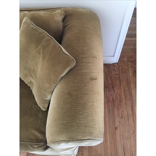 Mitchell Gold Slip Cover Sofa - Image 4 of 8