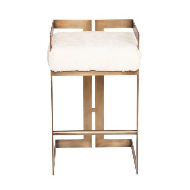 Not Yet Made - Made To Order Set of 7 Murray Stools For Sale - Image 5 of 7