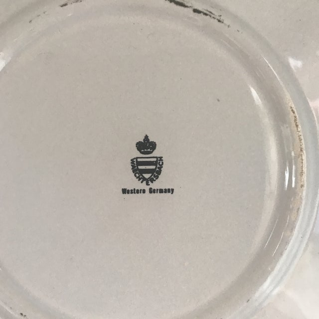 Vintage Waechersbach French Cheese Plate Fromage Dome For Sale - Image 9 of 13
