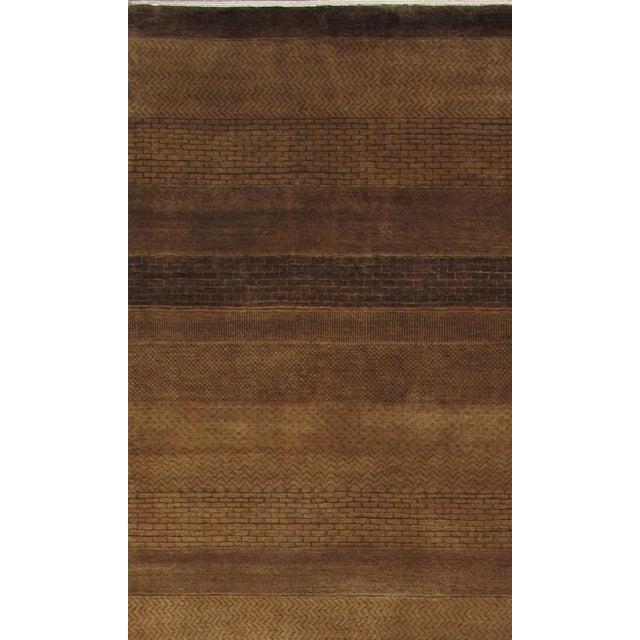 "Pasargad Gabbeh Wool Area Rug - 8'9"" X 11'6"" - Image 2 of 2"
