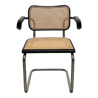 """Knoll """"Cesca Chair"""" Armchair by Marcel Breuer For Sale"""