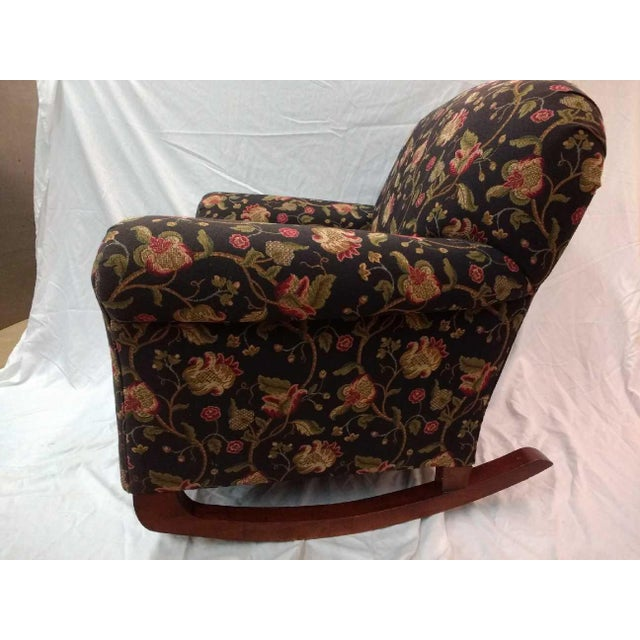 Early 20th Century Early 20th Century Overstuffed Rocker For Sale - Image 5 of 10