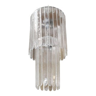 Mid 20th Century Cascade Chandelier by Leucos For Sale