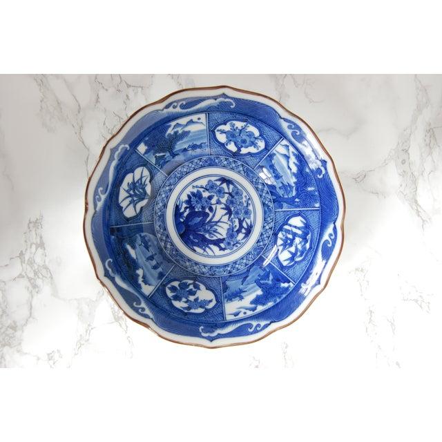 Blue & White Japanese Bowls - Set of 4 - Image 6 of 7