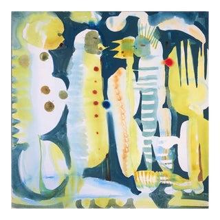 """Fireflies"" Acrylic Painting on Canvas"