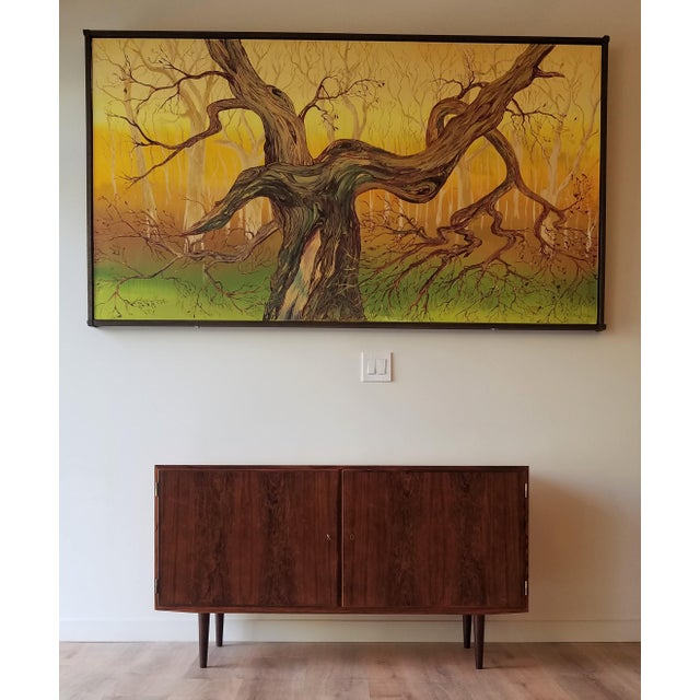 Mid-Century Modern Fully Restored Poul Hundevad Rosewood Sideboard For Sale - Image 12 of 13