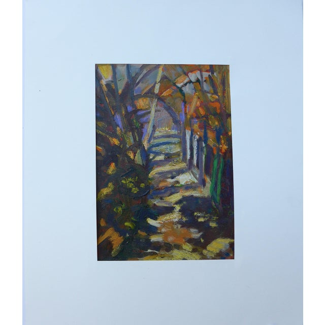 """Path in the Woods"" Original Painting - Image 6 of 7"