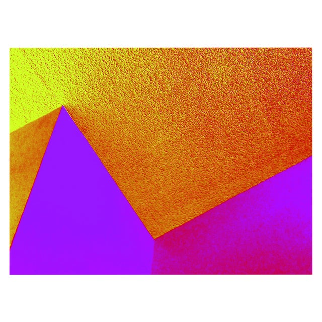 Abstract Suga Lane Untitled 9-3844 Limited Edition Print For Sale