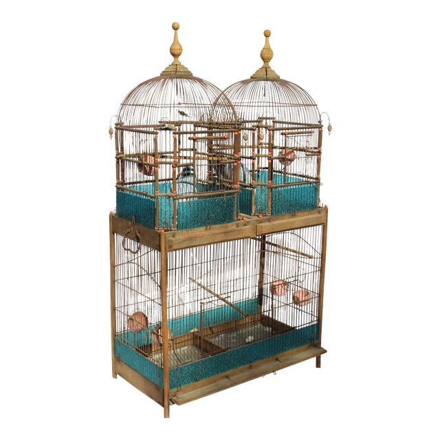 19th Century English Victorian Bird Cage For Sale