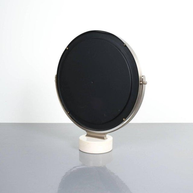 Sergio Mazza Large Swivel Marble Table Mirror, Italy, 1960 For Sale - Image 6 of 7