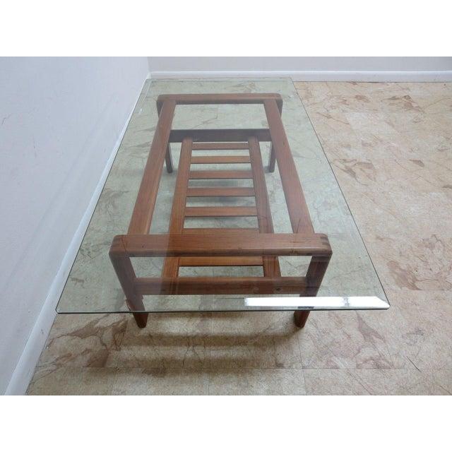 Danish Modern Danish Modern S. Burchardt Nielsen Floating Coffee Table For Sale - Image 3 of 6