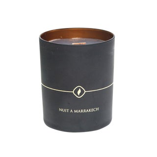 Cote Bougie Black Edition Handmade Marrakech Trip Candle