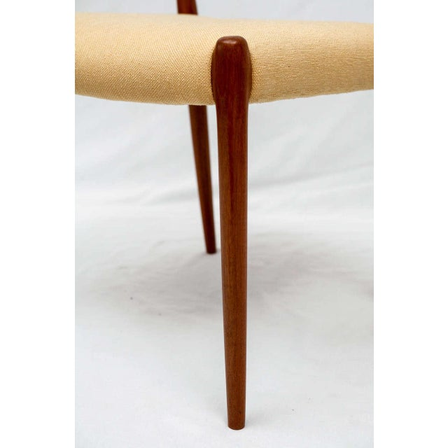 Mid-Century Modern Set of 4 Niels Moller Dining Chairs For Sale - Image 3 of 9
