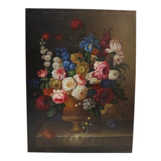 Floral Still Life Oil Painting For Sale