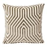 Image of Schumacher Double-Sided Pillow in Vanderbilt Velvet Print For Sale