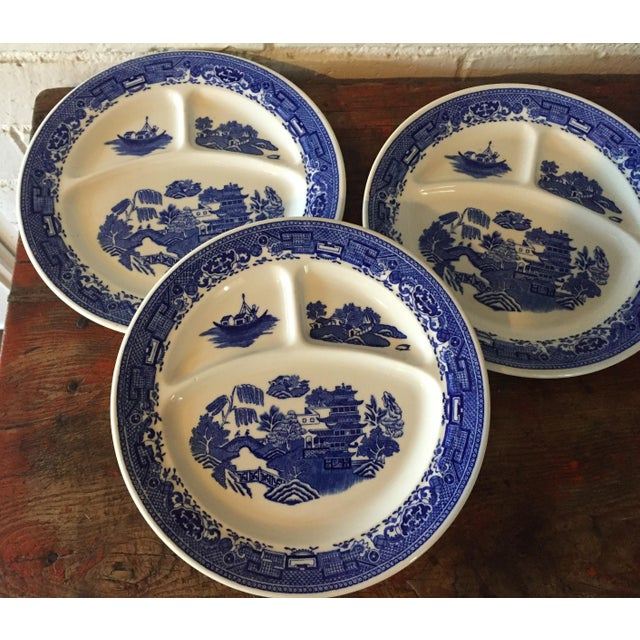 Blue Willow Restaurant Grill Plates - Set of 3 - Image 3 of 11