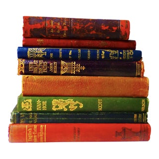 Small 19th Century Art Noueau Books - Collection of 8