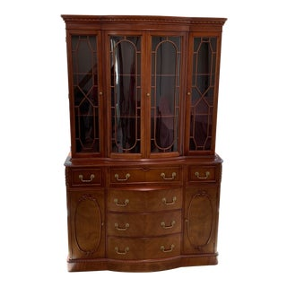 Late 19th Century China Cabinet-Desk For Sale