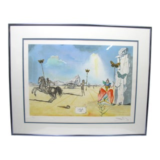 "Vintage Salvador Dali Print ""Homage to Papillon"" For Sale"