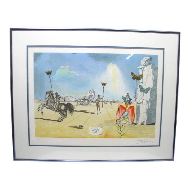 "Vintage Salvador Dali Print ""Homage to Papillon"" For Sale"