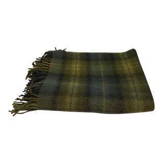 Vintage Lodge Pendleton Wool Blanket / Throw For Sale