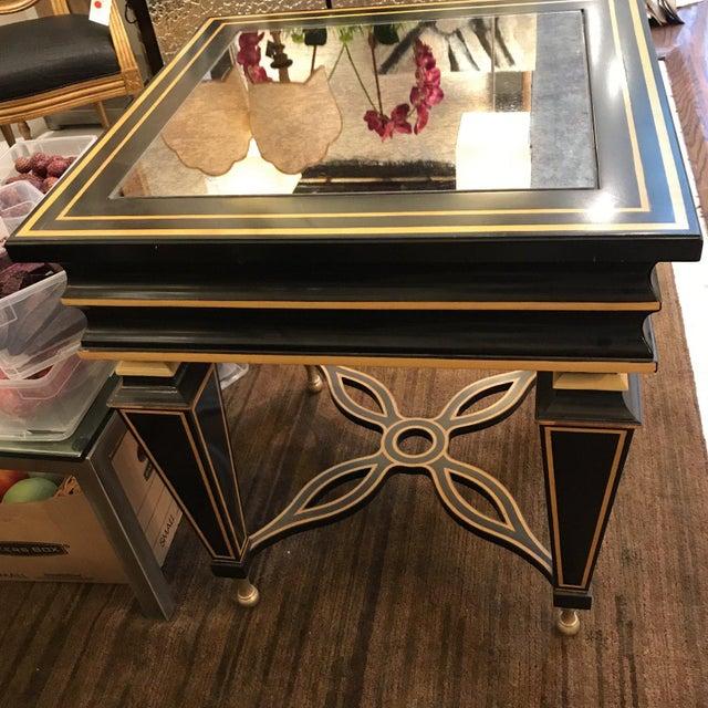 Hollywood Regency Hollywood Regency Caracole Side Table For Sale - Image 3 of 4