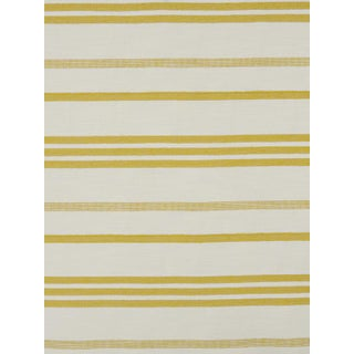 Scalamandre Marina Stripe Pastis Fabric For Sale