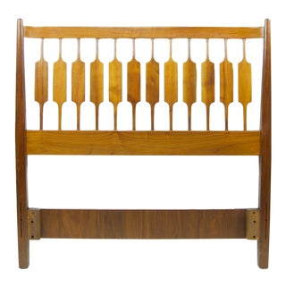 1950s Vintage Kipp Stewart for Drexel Mid-Century Modern Twin Headboard For Sale