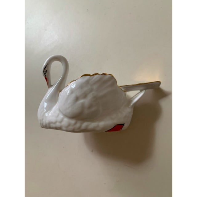 1960s Denton England Swan Ash Tray For Sale - Image 5 of 5