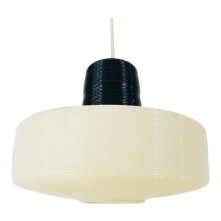 Midcentury Rotaflex Pendant Lamp, 1960s For Sale