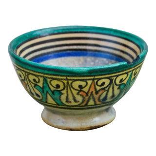 Moorish Ceramic Bowl For Sale
