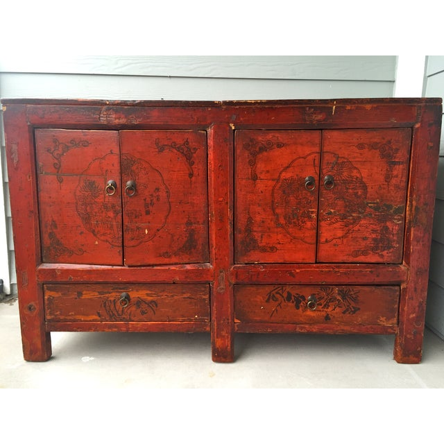 Asian Gansu Sideboard Cabinet - Image 2 of 11