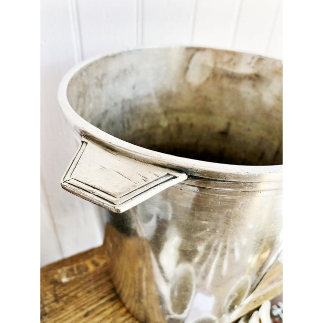 Vintage Christofle Silver Champagne Bucket From Le Colisee Hotel Paris For Sale In New York - Image 6 of 10